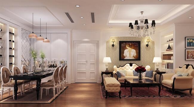 Thiết kế nội thất biệt thự nội thất châu âu đẹp nhất 2019 - Nội Thất Vương Gia