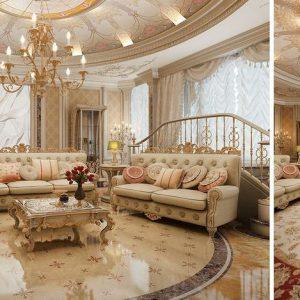 Phong thủy phòng khách nội thất vương gia