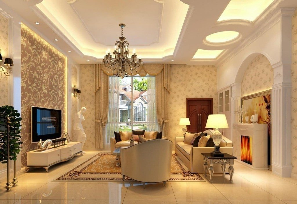 Thiết kế nội thất biệt thự cổ điển sang trọng nhất 2019 - Nội Thất Vương Gia