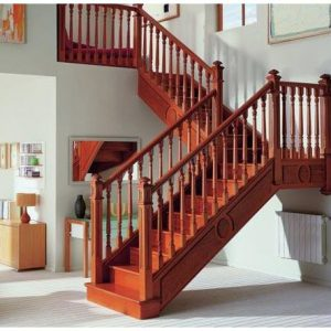 cầu thang gỗ đẹp nội thất vương gia