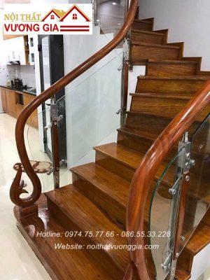 Mặt bậc cầu thang nội thất vương gia