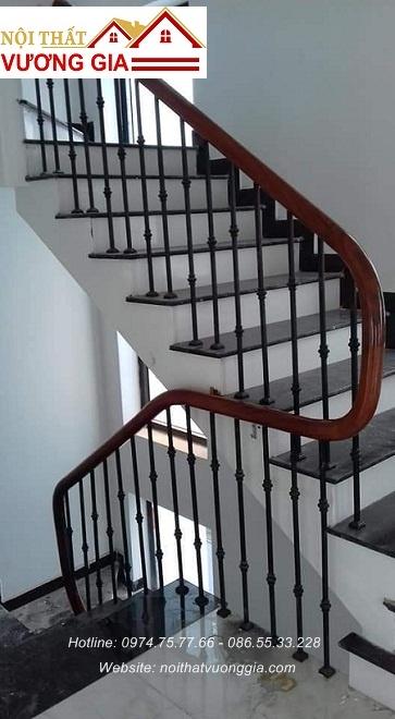 cầu thang sắt song nội thất vương gia