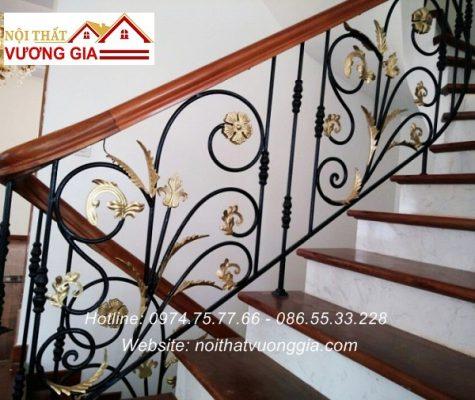 Báo giá cầu thang sắt nghệ thuật tại Vĩnh Phúc