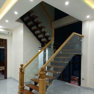 cầu thang xương cá cổ điển nội thất vương gia 8