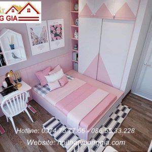 Nội thất phòng trẻ em-bé gái - nội thất vương gia