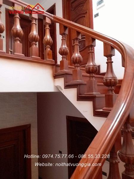 Các mẫu cầu thang đẹp cho nhà ống