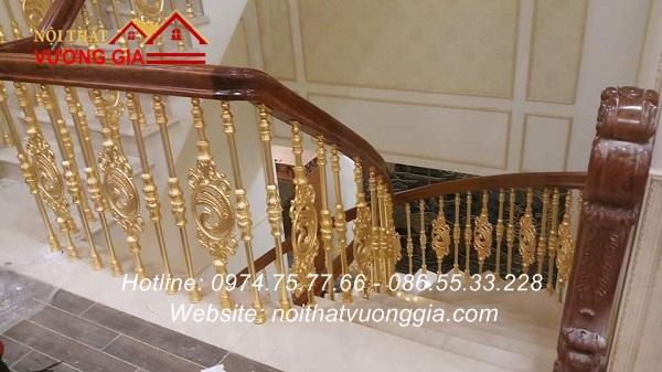báo giá lan can cầu thang nhôm đúc đẹp nhập khẩu