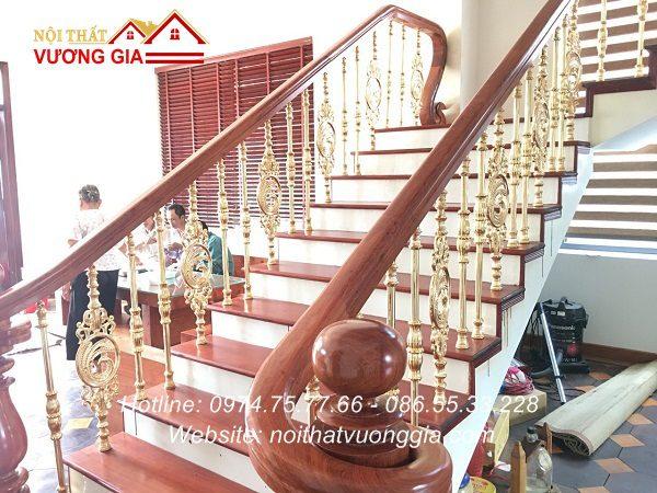 báo giá Cầu thang nhôm đúc tại hà nội Nội Thất Vương Gia