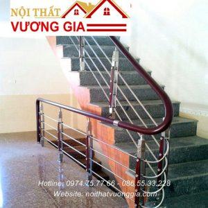 Báo giá cầu thang tay vịn nhựa tại Hà Nội Nội Thất Vương Gia