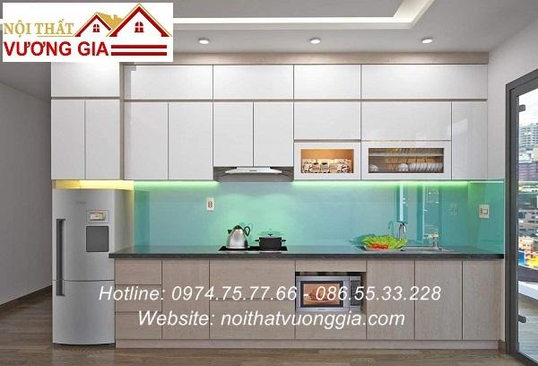 Báo giá kính màu ốp bếp chịu nhiệt tại Hà Nội