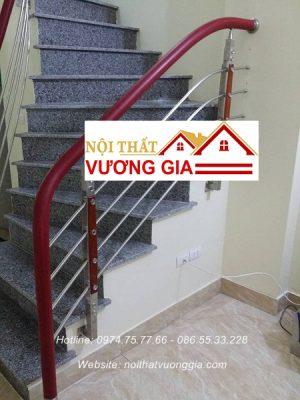 Báo giá thi công cầu thang tay vịn nhựa Nội Thất Vương Gia
