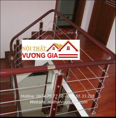 Cầu thang tay vịn nhựa phân phối và thi công
