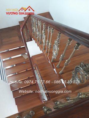 cầu thang song nhôm đúc tại Vĩnh Phúc