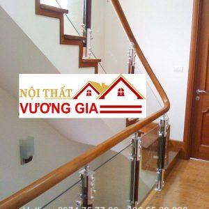 Cầu thang kính cường lực tại Từ Sơn Bắc Ninh