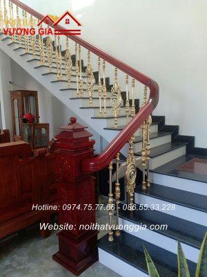 Lan can cầu thang nhôm đúc đẳng cấp
