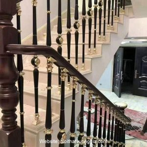 Cầu thang nhôm đúc mới nhất