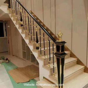 Cầu thang nhôm đúc Vip